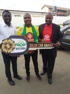 Solar Car Awardee